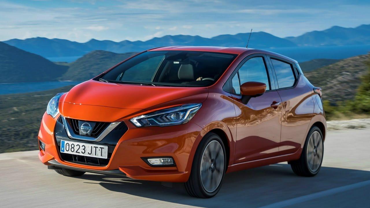 2017 Nissan Micra Energy Orange - YouTube