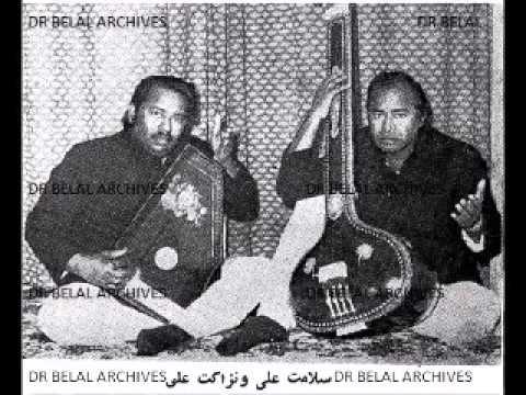Ustad Salamat Ali and Ustad Nizakat Ali - Madkouns