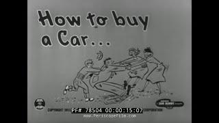1953 CHEVROLET SALES FILM