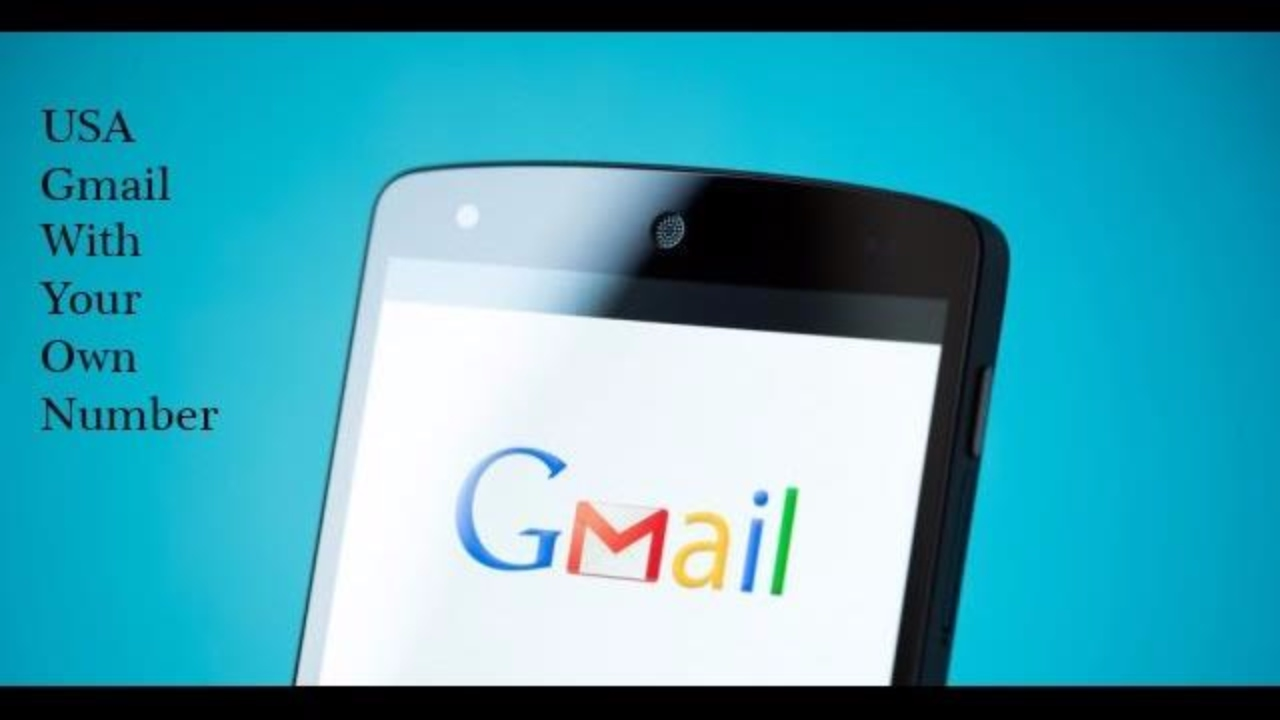How To Create A Gmail Id With Usa Location And Number - YouTube