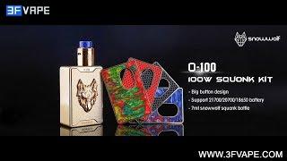 SnowWolf O-100 100W Squonk Kit