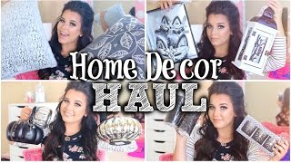 Home Decor HAUL! | Fall & Halloween 2015