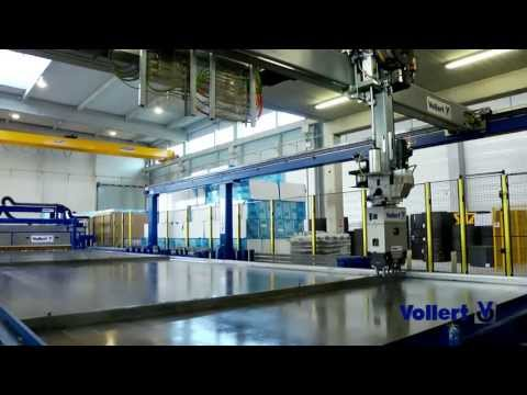 High-Automated Production of Double Walls and Floor Slabs | Vollert Anlagenbau