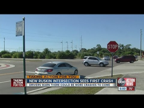 New intersection in Ruskin in Hillsborough County is an accident waiting to happen