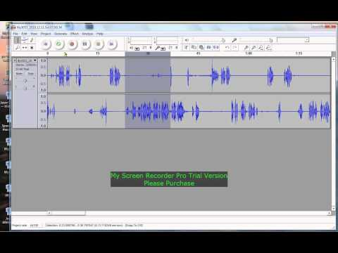 How to use Audacity for transcription