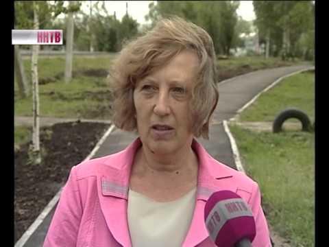 Тротуар в Лукоянове
