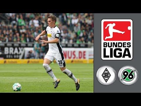 Borussia M'gladbach vs Hannover 96 ᴴᴰ 30.09.2017 - 7.Spieltag - 1. Bundesliga | FIFA 18