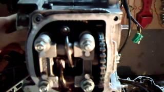 сборка и запуск мотора 139QMB