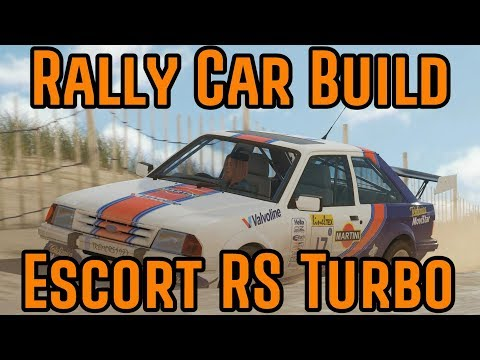 Forza Horizon 4 - Rally Car Build - Ford Escort RS Turbo thumbnail