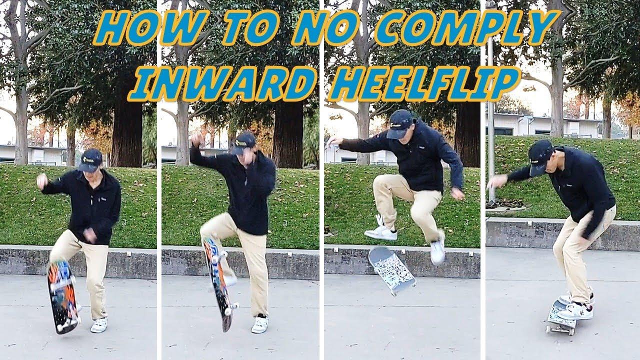 Skate Basics: How To No Comply Inward Heelflip