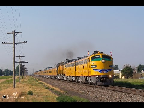 [HD] BNSF and UP in Colorado, Wyoming, and Nebraska on July 19, 2014