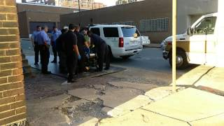 2015-08-25 17th and Olive Saint Louis, beat up girl can't get help.