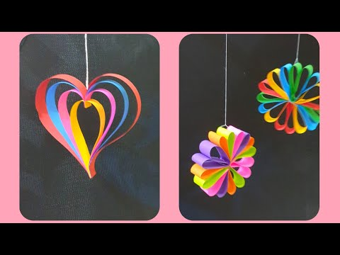 diy-paper-decorations-for-christmas,-new-year,-birthday-party,-wall-hanging-decorations.