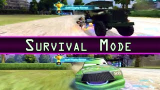 Cars 2 Multiplayer Survival Mode 2 Player Local Co Op Chick Hicks Vs Camo Sarge