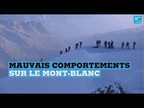 Le Mont-Blanc, un sommet de mauvais comportements