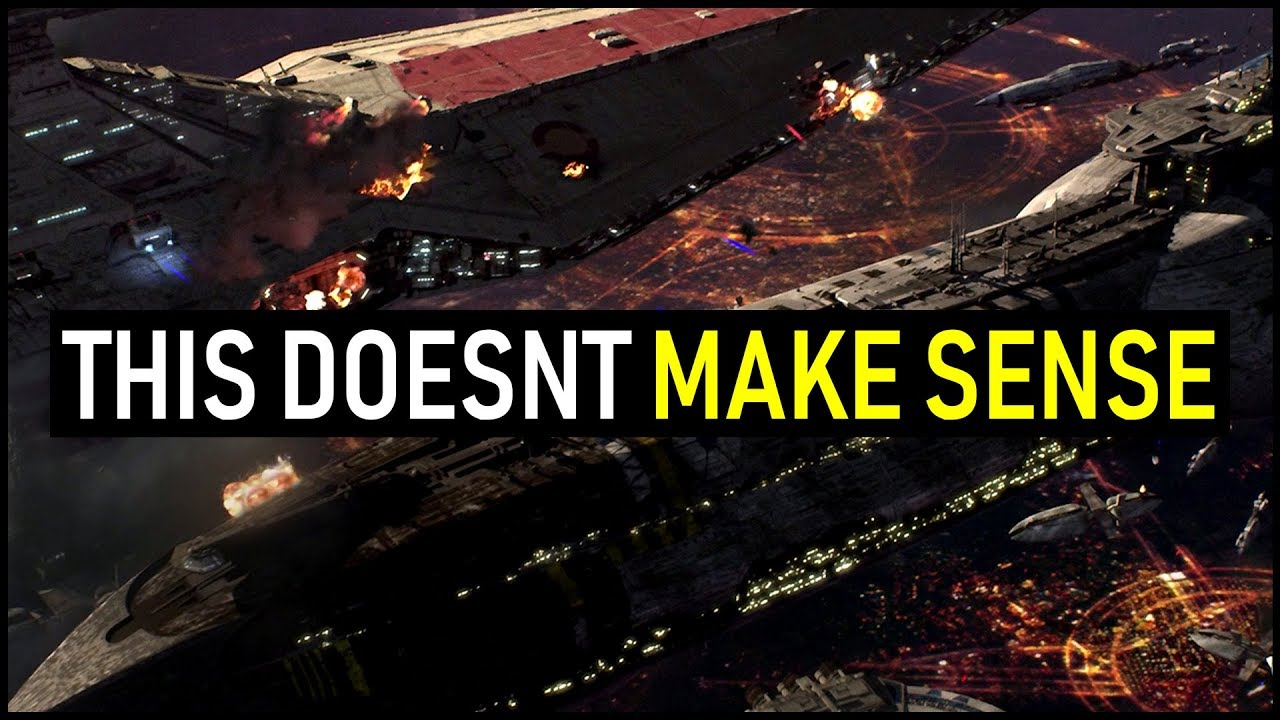 Why The Battle Of Coruscant Doesn T Make Sense Star Wars Lore