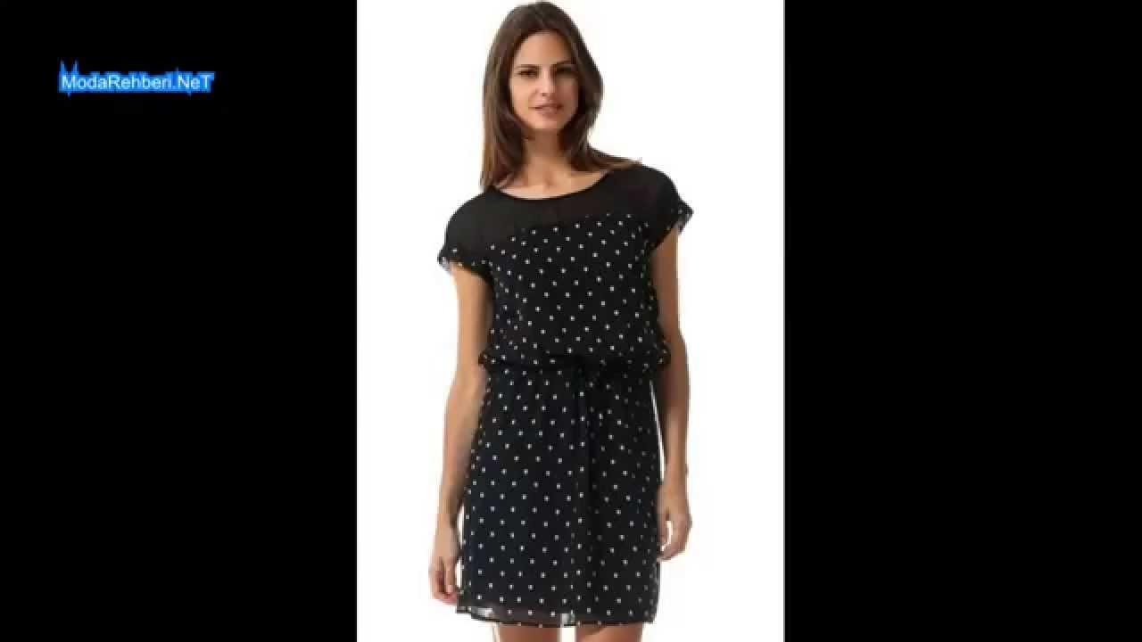 b312b21cf940e Defacto elbise modelleri 2014 - YouTube