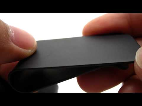 Superior Titanium Black Diamond Moneyclip Replacement