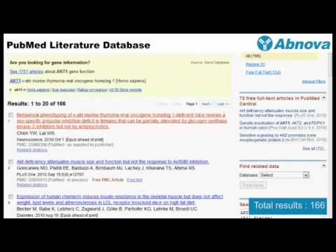 PubMed Literature Database