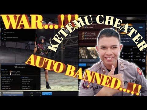 MOD WAR Ketemu Cheater?? AUTO Banned DiTempat..!!! ||Point Blank Indonesia