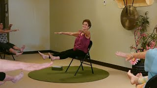 (1 Hr) Lively Chair Yoga Class with Tatis Cervantes-Aiken at Yoga Vista