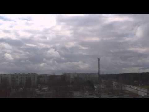 Weather time lapse, Riga, Latvia | 24 April 2010