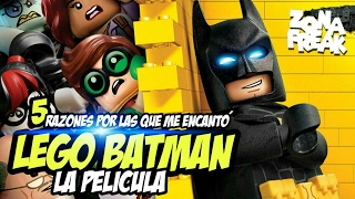 5 RAZONES POR LAS QUE ME ENCANTÓ LEGO BATMAN   Zona Freak