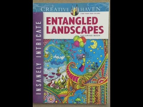 Creative Haven Insanely Intricate Entangled Landscapes Flip Through