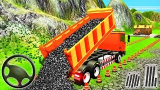 Highway Construction Simulator - Construction Vehicles Builder Road - Android GamePlay
