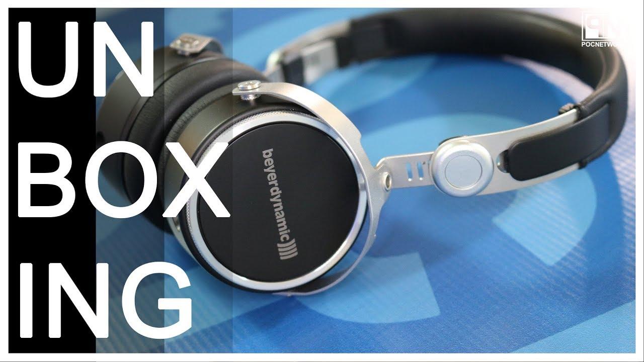 beyerdynamic Aventho Wired On-Ear Headphones - Unboxing - Poc ...