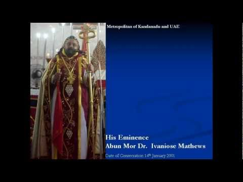 Syrian Orthodox Church Bishops - Chronological Order
