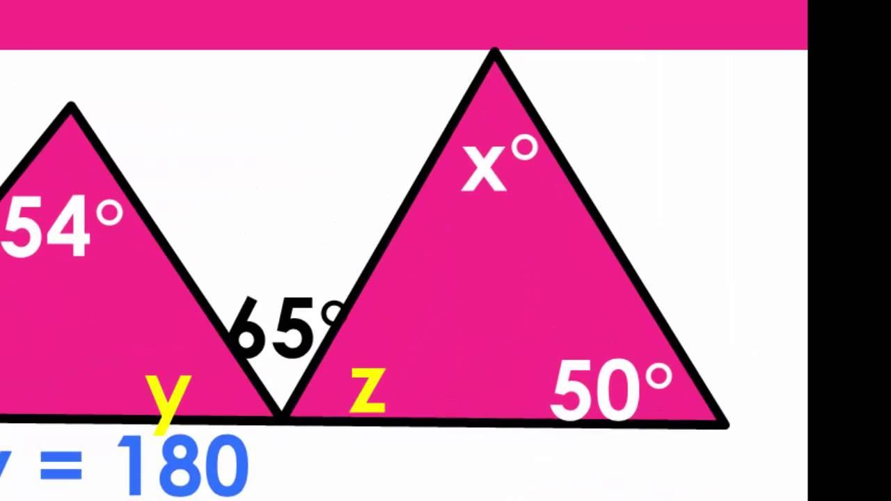 Sum Of Interior Angles A Triangle Worksheet Pdf Brokeasshome.com