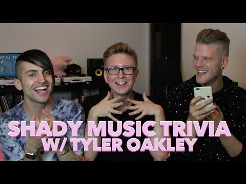 SHADY MUSIC TRIVIA (feat. Tyler Oakley)