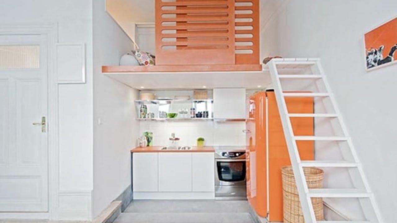 20 Small Apartments Lofts Interior Design Ideas  YouTube