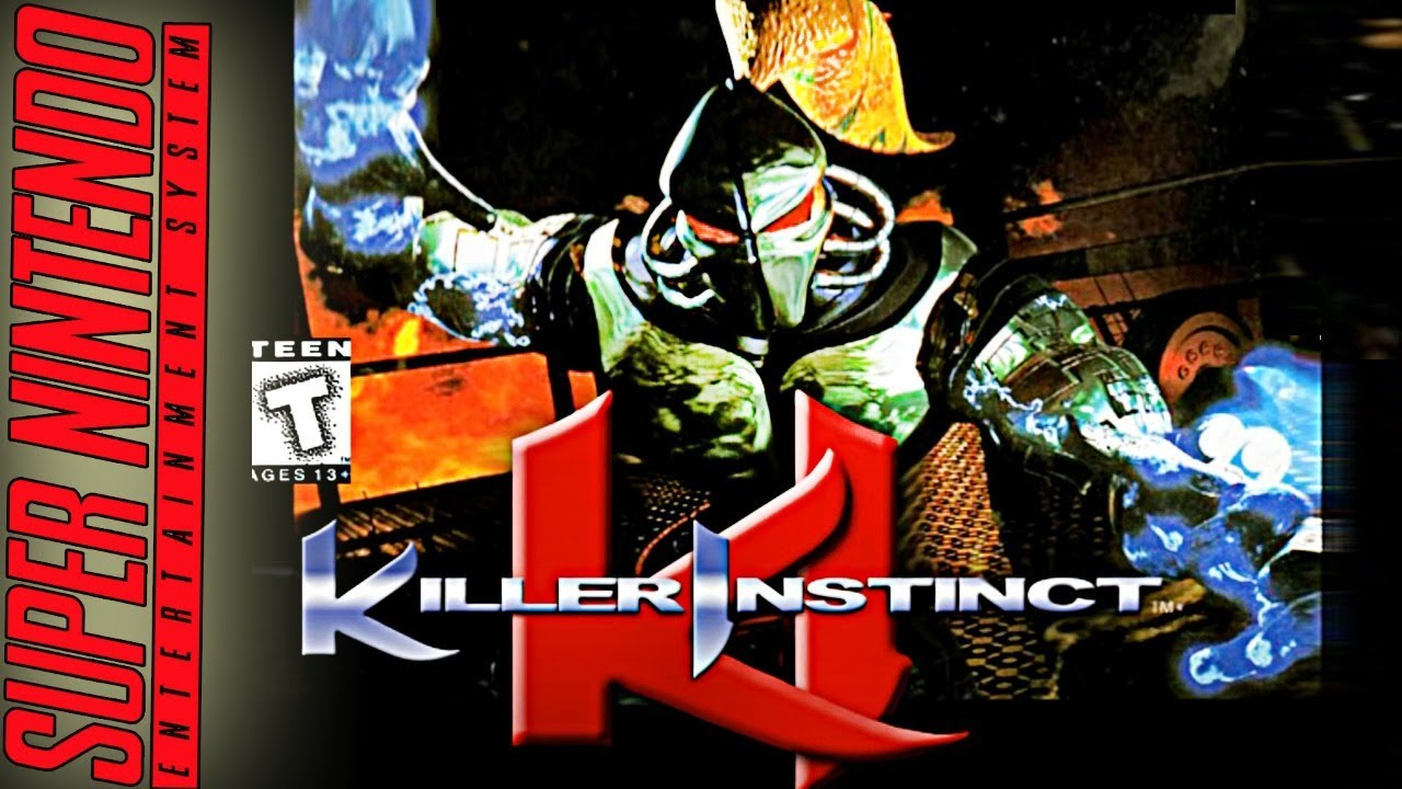 KILLER INSTINCT / SUPER NINTENDO / VERY HARD ATÉ ZERAR!