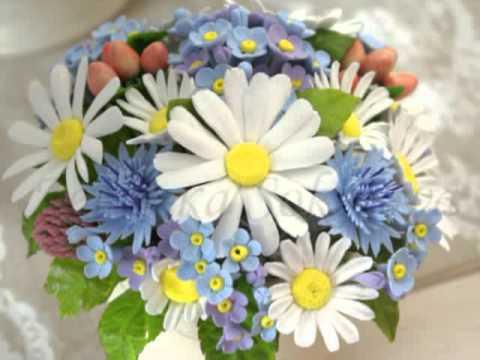 Флористика для начинающих : Спиральная техника без цветов (мастер класс)Floral. Flower.