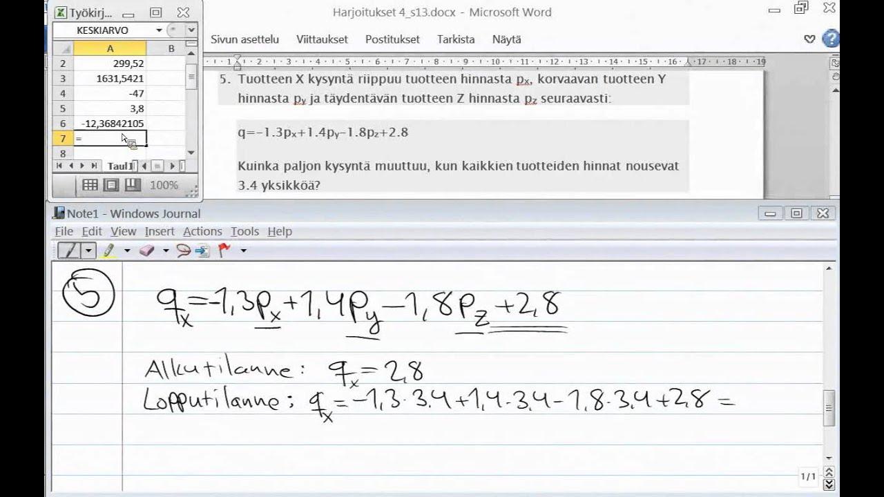 Talousmatematiikka