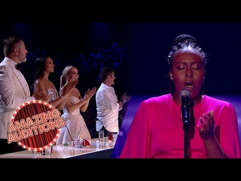 Judges RISE UP To The Voice Of An ANGEL Sarah Ikumu | Amazing Auditions