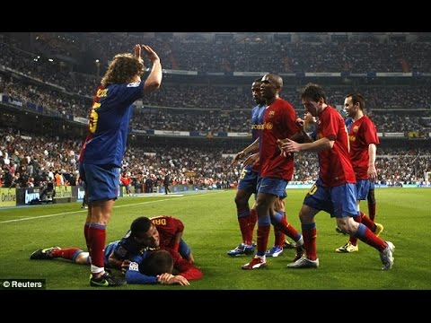 Барселона реал мадрид 6 2 видео