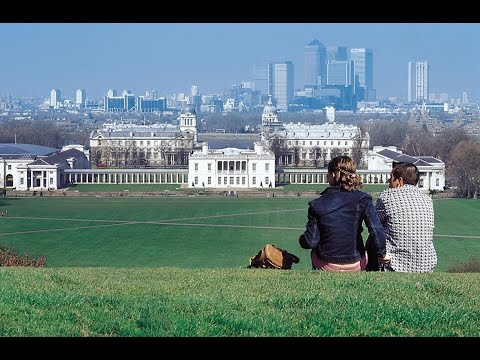 Greenwich, Greenwich Park and Greenwich Royal Observatory in London
