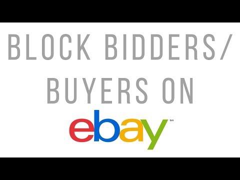 How to block bidders/ buyers on eBay | Buyer/Bidder Management | Buyer requirements