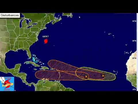 Tropical Update Invest Area 91L still a Caribbean threat  15 Aug PM
