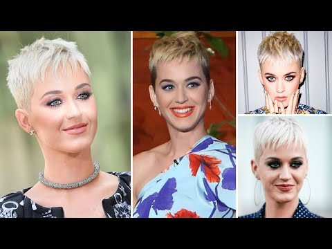 Singer Katy Perry's New Look and Hair Styles of 2017 - Katy Perry's Short Hair Styles 2017