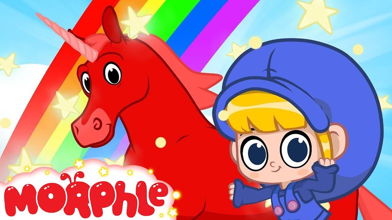 Mila and Morphle Go Rainbow Land - My Magic Pet Morphle | Cartoons For Kids | Morphle TV | BRAND NEW