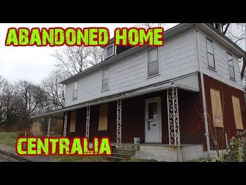 ABANDONED Centralia Home - House Of Former Mayor Of Centralia