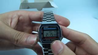 Đồng hồ đeo tay Casio A168WA-1W