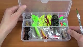 Набор приманок для рыбалки с Aliexpress