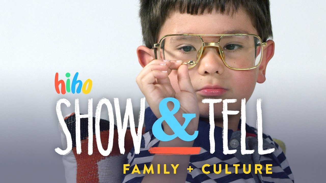 Kids Show and Tell - Family & Culture (and try Jollibee!!) | Show and Tell | HiHo Kids