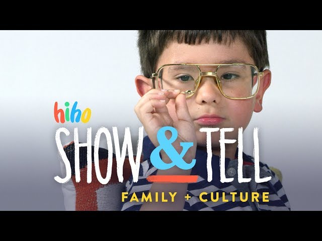 Kids Show and Tell - Family & Culture
