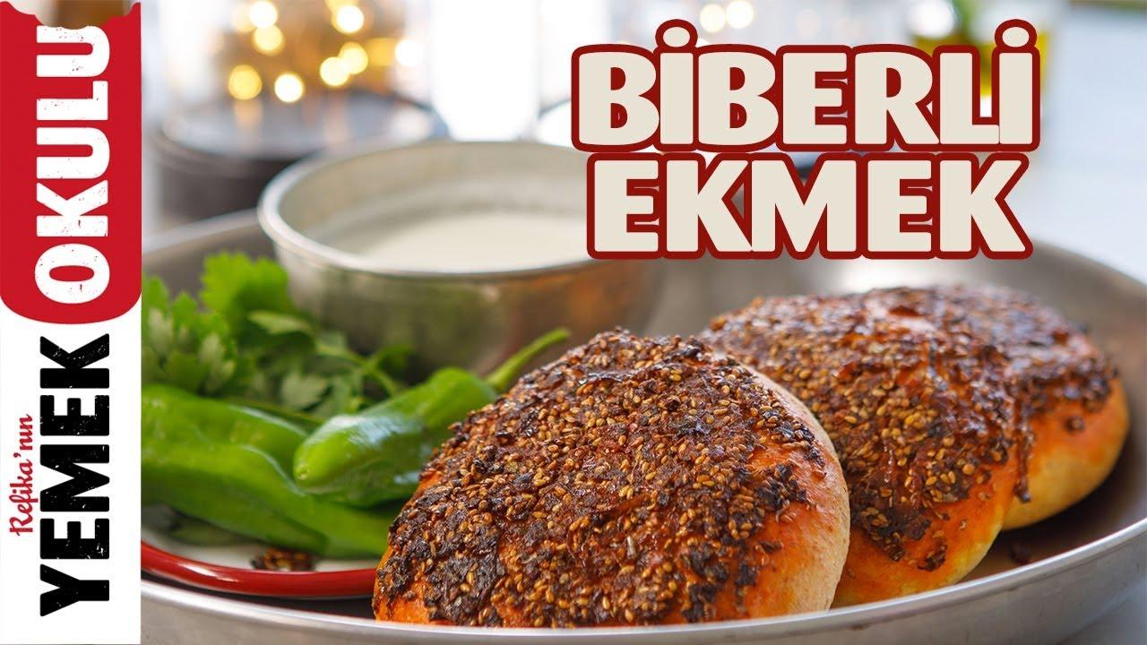 Biberli Ekmek Tarifi | Burak'ın Ekmek Teknesi